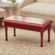 Dollhouse Miniature Wooden Coffee Table