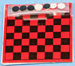Dollhouse Miniature Checker Set