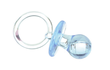Bulk Blue Plastic Baby Pacifier Favors