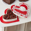 Miniature Heart Shaped Gift Box with Chocolates