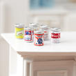 Dollhouse Miniature Assorted Beer Cans