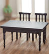 Dollhouse Black Dining Table