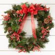 'Happy Holidays' Artificial Pine Wreath