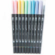 Tombow Dual Brush Pastel Color Pens Set