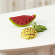 Miniature Tropical Pineapple and Watermelon