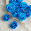 Turquoise Artificial Rose Heads
