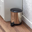Miniature Stainless Steel Garbage Can