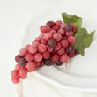 Artificial Red Grape Cluster