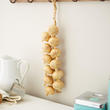 Artificial Hanging Garlic Raffia Braid