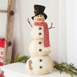 Rustic Weighted Snowman