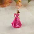 "Elegant ""Lady in Fuchsia "" Mini Doll"