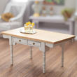Dollhouse White & Oak Vermont Table