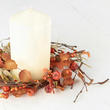 Autumn Harvest Berries Candle Ring