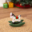 Miniature Wooden Rocking Horse