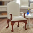 Dollhouse Miniature President's Guest Chair