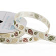 Swirl Leaves Grosgrain Ribbon