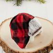 Plaid Winter Trapper Doll Hat