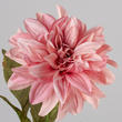Pink Artificial Dahlia Stem