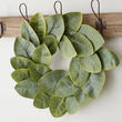Artificial Williamsburg Magnolia Leaf Wreath