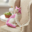 Papo Feline Fantasy Pink and White Cat