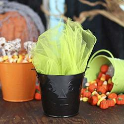 Bulk Assorted Halloween Favor Tin Pails