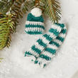 Miniature Knit Scarf and Hat Set