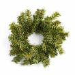 "Bulk Case of 216 Artificial 5"" Canadian Pine Wreaths"