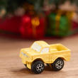 Dollhouse Miniature Yellow Toy Truck