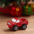 Dollhouse Miniature Red Toy Truck