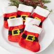 Small Santa Belt Christmas Stockings