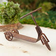 Dollhouse Miniature Rusty Old Fashion Scooter