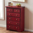 Dollhouse Miniature Mahogany Chest Of Drawers