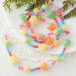 Sugary Artificial Gum Drop Candy Garland