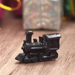 Dollhouse Miniature Black Train Engine