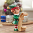 Miniature Christmas Elf with List