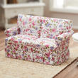 Dollhouse Miniature Traditional Love Seat