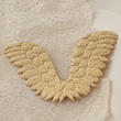 Gold Embossed Angel Wing