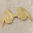 Gold Puffy Angel Wing