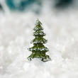 Dollhouse Miniature Spruce Trees