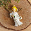 Dollhouse Miniature Painted Angel Ornament - True Vintage