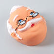Vinyl Grandpa Doll Face - True Vintage