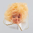 Sweet Angel Doll Head with Wings - True Vintage