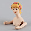 Porcelain Lady Doll Head and Hands - True Vintage
