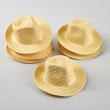 Straw Fedora Doll Hats - True Vintage