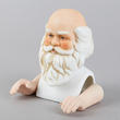 Porcelain Santa Head and Hands - True Vintage