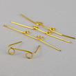 Gold Wire Doll Glasses - True Vintage