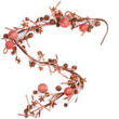 Bulk Case of 24 Rustic Candy Cane Holiday Garland
