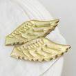 Gold Puffy Angel Wings - True Vintage