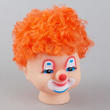 Orange Hair Clown Doll Head - True Vintage