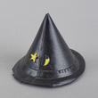 Black Plastic Witch Hat - True Vintage